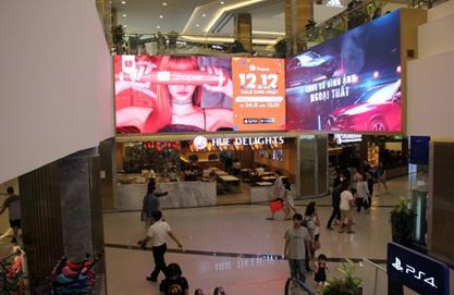 Màn hình LED trong Landmark 81
