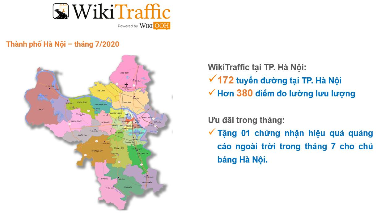 Wiki Traffic tại Hà Nội