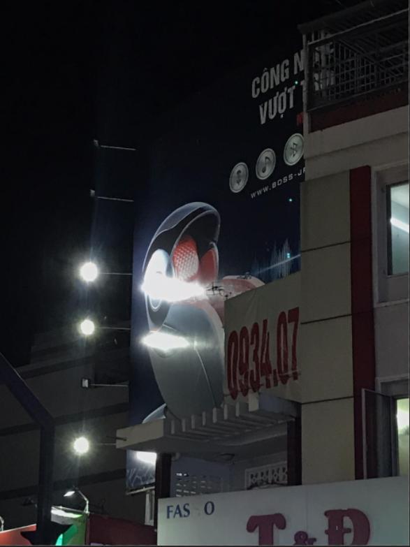 Lỗi đèn quảng cáo