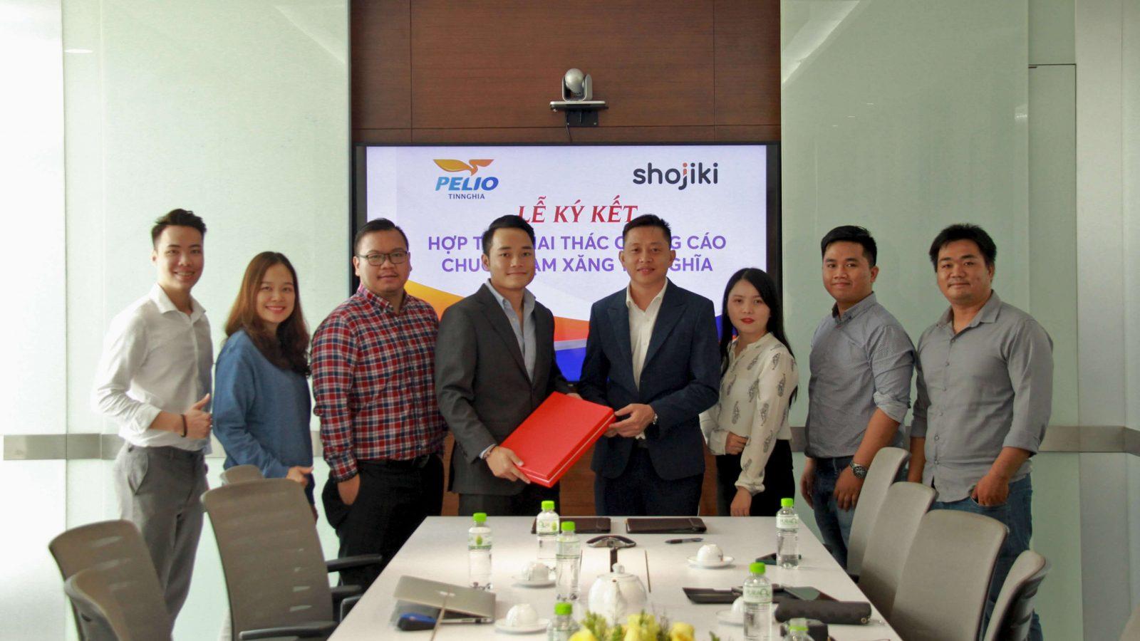 Shojiki ký kết hợp tác với Pelio Tín Nghĩa