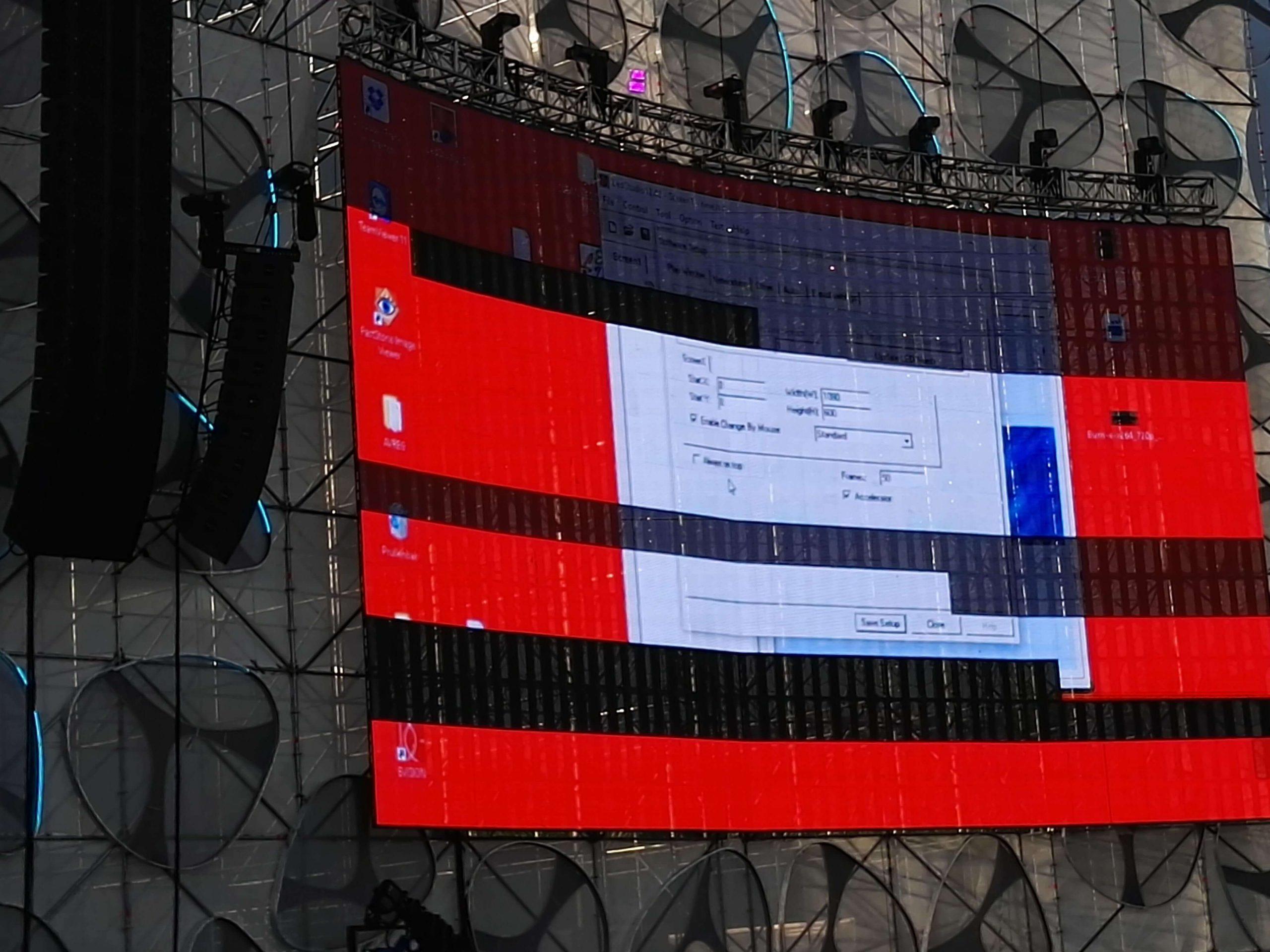 Lỗi màn hình LED ngoài trời