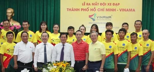 lễ ra mắt đội xe đạp thành phố Hồ Chí Minh - Vinama
